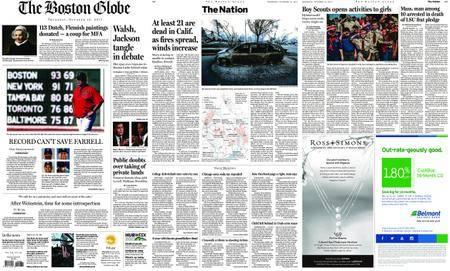 The Boston Globe – October 12, 2017