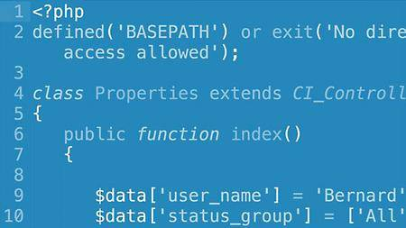 Lynda - Learn CodeIgniter 3: The Basics