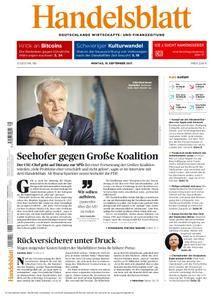 Handelsblatt - 18. September 2017