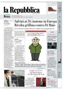 la Repubblica - 20 Febbraio 2019