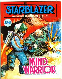 Starblazer 187 - Mind Warrior (1987) (PDFrip