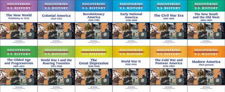 Discovering U.S. History (Full Set, 12 Books)