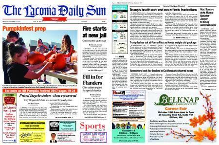 The Laconia Daily Sun – October 13, 2017