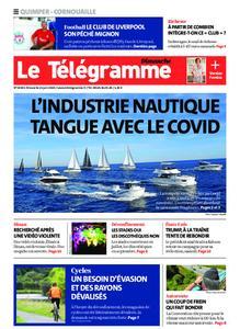 Le Télégramme Ouest Cornouaille – 21 juin 2020