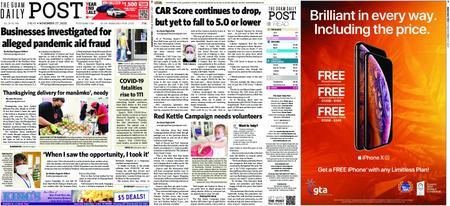 The Guam Daily Post – November 27, 2020