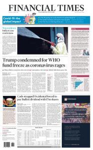 Financial Times USA - April 16, 2020