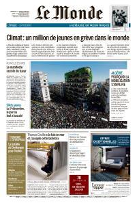 Le Monde du Dimanche 17 et Lundi 18 Mars 2019