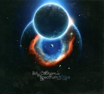 Billy Cobham - Spectrum 40 Live (2015) [2CDs] {CMMC}