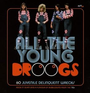 VA - All The Young Droogs: 60 Juvenile Delinquent Wrecks (2019)