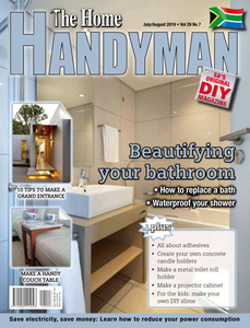 The Home Handyman - July/August 2019