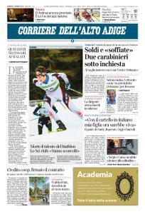 Corriere dell'Alto Adige – 11 gennaio 2019