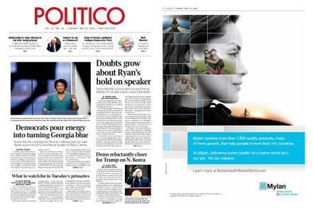 Politico – May 22, 2018