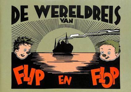 Brabant Strip Magazine Vakantiealbums 10 Losstaande Albums Van Leo De Budt 01 De Wereldreis Van Flip En Flop