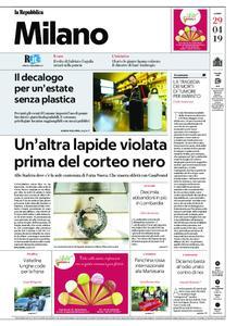 la Repubblica Milano – 29 aprile 2019