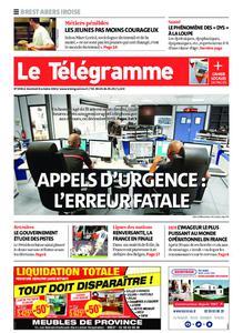 Le Télégramme Brest Abers Iroise – 08 octobre 2021
