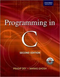 Programming in C, 2nd Edition (Repost)