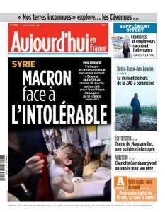 Aujourd'hui en France du Mardi 10 Avril 2018