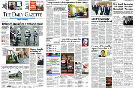 The Daily Gazette – November 28, 2018