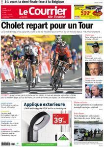 Le Courrier de l'Ouest Angers - 09 juillet 2018