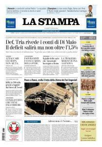La Stampa Torino Provincia e Canavese - 31 Agosto 2018