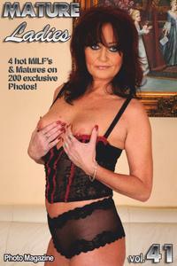 Mature Ladies Adult Photo Magazine - January 2020