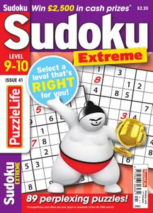 PuzzleLife Sudoku Extreme – September 2019