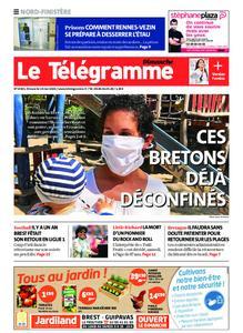 Le Télégramme Brest Abers Iroise – 10 mai 2020