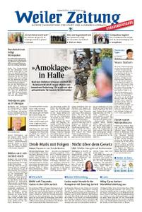 Weiler Zeitung - 10. Oktober 2019
