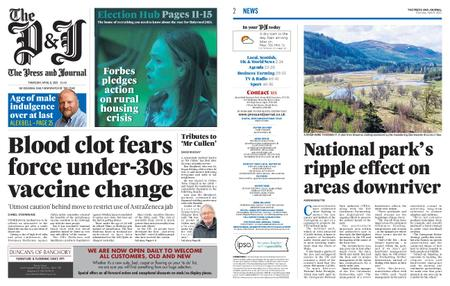 The Press and Journal Moray – April 08, 2021