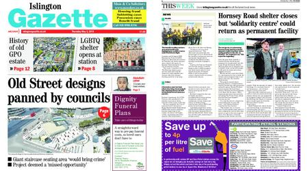 Islington Gazette – May 02, 2019