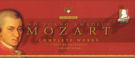 Wolfgang Amadeus Mozart - Mozart Edition: The Complete Works (170 CD Box Set) (2005)