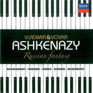 Vladimir & Vovka Ashkenazy - Russian Fantasy: Mussorgsky, Rachmaninov, Glinka, Borodin, Scriabin (2011) [Re-Up]