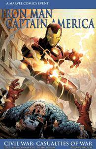 Civil War Casualties of War Iron Man Captain America 2007 Digital