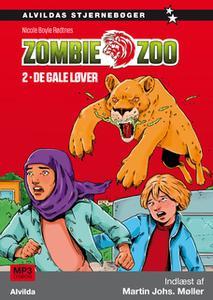 «Zombie zoo 2: De gale løver» by Nicole Boyle Rødtnes