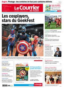 Le Courrier de l'Ouest Angers – 12 septembre 2021