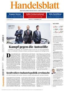 Handelsblatt - 03. Dezember 2018
