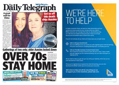 The Daily Telegraph (Sydney) – March 30, 2020