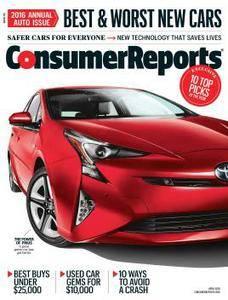 Consumer Reports - April 2016