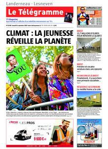 Le Télégramme Landerneau - Lesneven – 21 septembre 2019