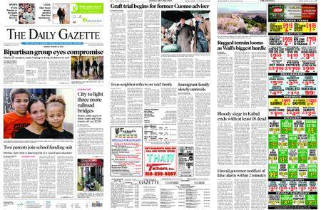 The Daily Gazette – January 22, 2018