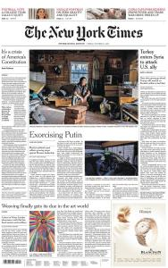 International New York Times - 11 October 2019