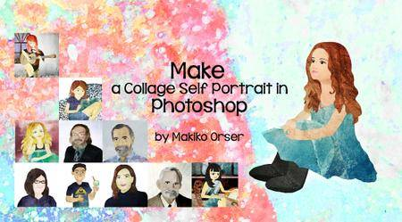 Make a Collage Self Portrait in Photoshop