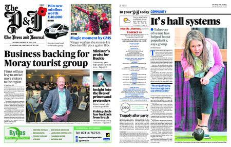 The Press and Journal Moray – November 10, 2018