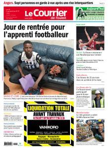 Le Courrier de l'Ouest Angers – 02 septembre 2019