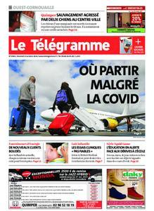 Le Télégramme Ouest Cornouaille – 15 octobre 2021