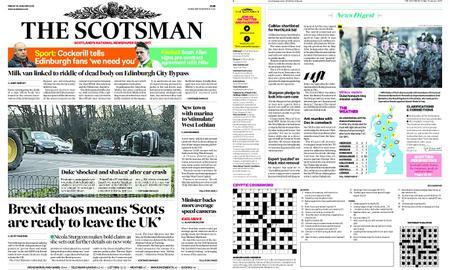 The Scotsman – January 18, 2019