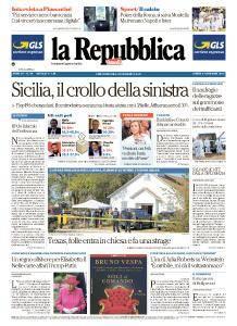 la Repubblica - 6 Novembre 2017