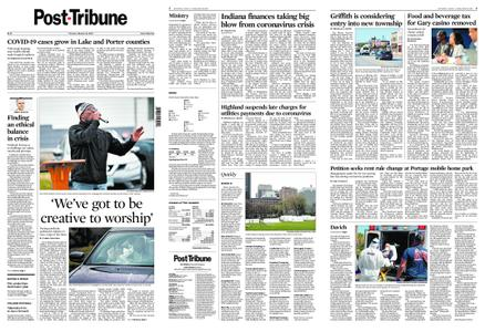 Post-Tribune – March 31, 2020