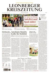 Leonberger Kreiszeitung - 23. September 2019