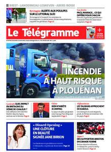 Le Télégramme Brest Abers Iroise – 13 août 2021